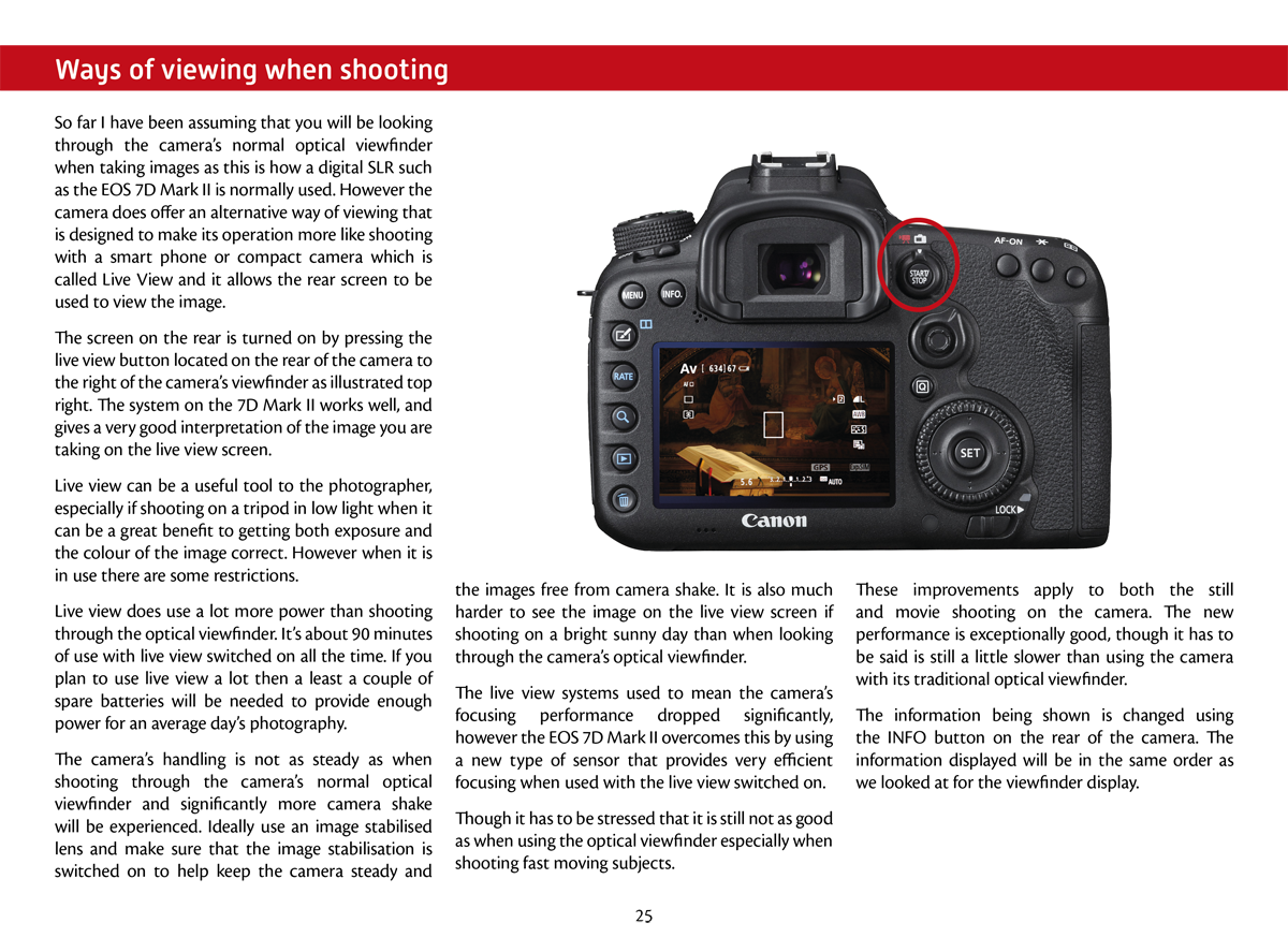 Getting started with the EOS 7D Mark II - EOS Training Academy