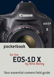 EOS 1DX pocketbook cover