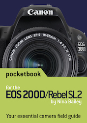 EOS 200D pocketbook cover