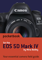 EOS 5D IV pocketbook cover