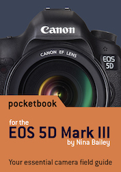 EOS 5DIII pocketbook cover