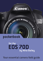 EOS 70D pocketbook cover