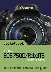 EOS 750D pocketbook cover