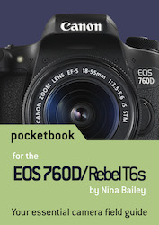 EOS 760D pocketbook cover