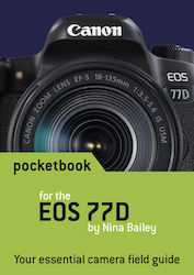 EOS 77D pocketbook cover