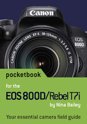 EOS 800D pocketbook cover