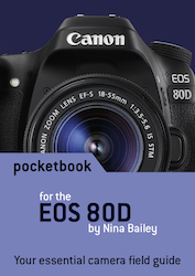 EOS 80D pocketbook cover