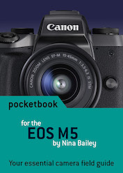 EOS M5 pocketbook cover