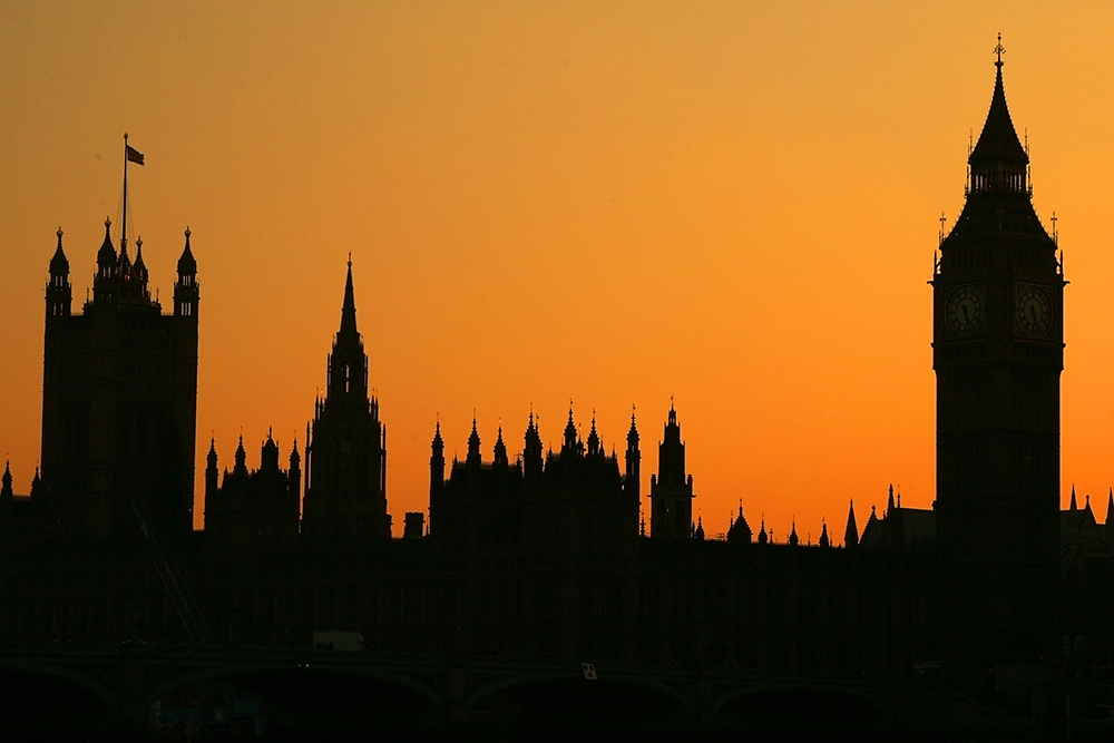 Houses of Parliament Silhouette